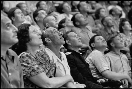Unión Soviética. Moscú. 1954. Circo de Moscú. (+ + + Свернуть